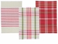 Now Designs North Pole Check Dishtowels Set of 3
