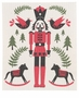 Now Designs Nutcracker Swedish Dishcloth