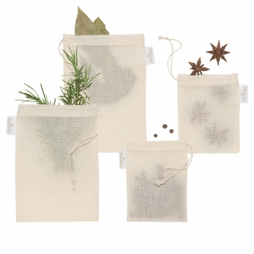 Now Designs Reusable Spice Bags Set of 4