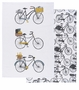 Now Designs Set 2 Tea Towels Bicycle Bicicletta