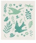 Now Designs Swedish Dishcloth Meadowlark