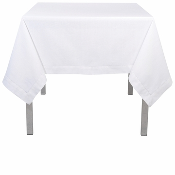 Now Designs Tablecloth Hemstitch White 60X90