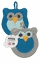 Now Designs Tawashi Owl Dish Scrubbers Set of 2