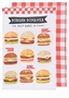 Now Designs Tea Towels Burger Bonanza