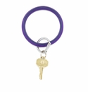 O-venture Big O Key Ring Deep Purple (Alzheimers Awareness)