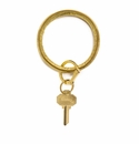 O-venture Big O Key Ring Solid Gold Rush Croc