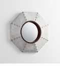 Octagonal Steel Mirror by Cyan Design