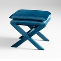 Otto Stool Blue by Cyan Design