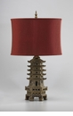 Pagoda Resin Table Lamp by Cyan Design