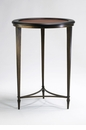 Paloma Ebony & Mahogany Side Table by Cyan Design