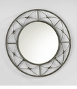 Parker Rustic Gray Mirror by Cyan Design