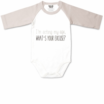 Pavilion Gift ''Acting my Age'' Onesie, 6-12 Months