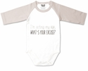 "Pavilion Gift ""Acting my Age"" Onesie, 6-12 Months"