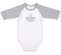 "Pavilion Gift ""Boat Baby"" Onesie, 6-12 month"