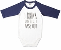 """Pavilion Gift """"Pass Out"""" Onesie, 6-12 Month"""