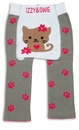 Pavilion Gray Kitty Leggings 6-12 Month