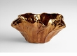 Payton Coppered Ceramic Bowl by Cyan Design