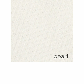 Peacock Alley Angelina 108X102 Pearl Calking Coverlet