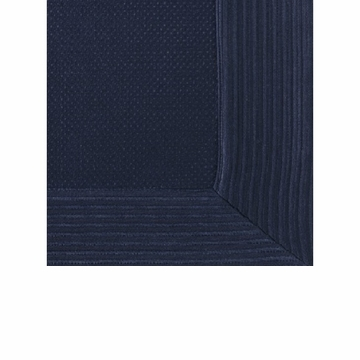 Peacock Alley Angelina 96X98 Navy Queen Coverlet