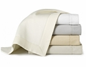 Peacock Alley Angelina 96X98 White Queen Coverlet