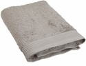 Peacock Alley Bamboo Wash Towel  Flint