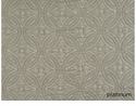Peacock Alley Lucia 115X98 King Coverlet Platinum