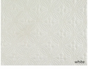 Peacock Alley Lucia 96X98 Queen Coverlet White