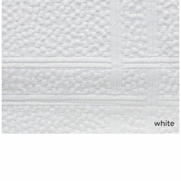 Peacock Alley Montauk 72X92 Twin Coverlet White