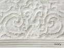 Peacock Alley Park Avenue Hand Towel Ivory