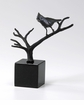 Perched Bird Iron Sculpture by Cyan Design