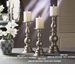 Dessau Home Pewter Pillar Candleholder - Medium Home Decor