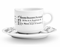 Pillivuyt Brasserie Breakfast Cup - 10 Oz. Set of 4