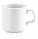 Pillivuyt Stackable Mug - 9 Oz. Set of 4