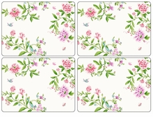 Pimpernel Porcelain Garden Placemats Set Of 4