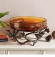 Pinecone And Branches Bowl by SPI Home