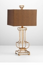 Pinkston Acrylic Table Lamp by Cyan Design