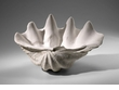 Plaster Clam Shell Shaped Bowl by Cyan Design