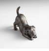 Playful Puppy Iron Sculpture by Cyan Design