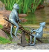 Playground Days Frogs Garden Sculpture by SPI Home