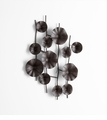Poppies Iron Wall Decor by Cyan Design