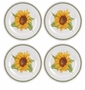 Portmeirion Botanic Garden Melamine Dinner Plates Set of 4 (Sunflower)
