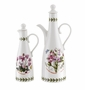 Portmeirion Botanic Garden Oil & Vinegar Set (Sweet Pea/Cyclamen)