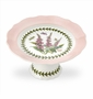"Portmeirion Botanic Garden Terrace Small Footed Cake Plate 6.5"" d."