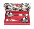 Portmeirion Holly and The Ivy Set of 2 Salad Servers