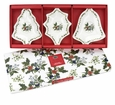 Portmeirion Holly and The Ivy Set of 3 Christmas Dishes