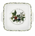 Portmeirion Holly and The Ivy Square Handled Cake Plate