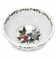 "Portmeirion Holly & Ivy 9"" Salad Bowl"