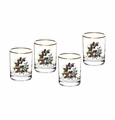 Portmeirion Holly & Ivy Set of 4 Double Old Fashioneds