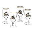 Portmeirion Holly & Ivy Set of 4 Goblets