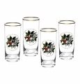 Portmeirion Holly & Ivy Set of 4 Highballs